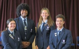 One Tree Hill College Prefects 2018