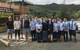 Year 12 DVC Trip to Port Waikato Surf Club
