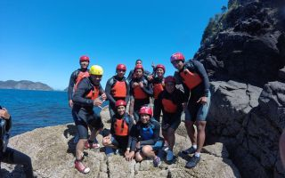 Great Barrier Sports Trip 2016